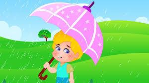 go away green rain rain go away nursery rhyme with lyrics kids tv nursery rhymes