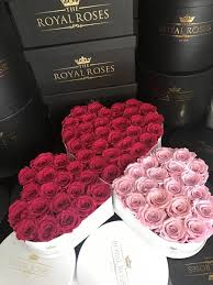 Roses In A Box Eternity Roses Heart Shaped Preserved Rose Box U2013 The Royal Roses
