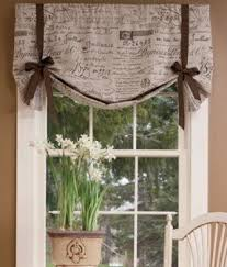 Tie Up Valance Curtains Tie Up Valance Foter
