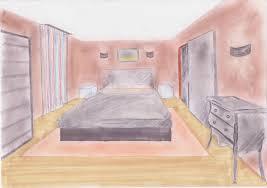 dessin chambre en perspective dessiner une chambre en perspective idées de décoration capreol us
