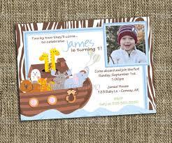 noah u0027s ark printable invitation birthday party showers and