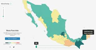 Mexico States Map by The Radical Transformation Of Mexico Over The Last Decade In 2