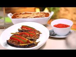 choumicha tv cuisine gratin d aubergines et aubergines farcies à la viande hachée
