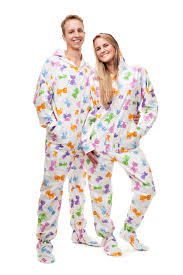 kajamaz footed pajamas and jumpsuits for adults and happy
