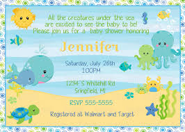 the sea baby shower printable the sea baby shower invitation plus free blank