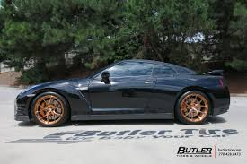 nissan gtr qatar living nissan gt r with hre p101 in brushed copper hre performance wheels