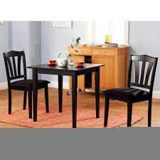 3 piece dining set home office furniture marble table and chairs