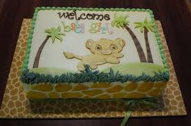 Lion King Baby Shower Cake Ideas - baby shower cake lion king baby cake lion baby cake pinterest