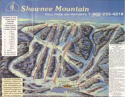 Shawnee Map Shawnee Mountain Skimap Org