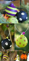 how to make recycled halloween ornaments halloween ornaments