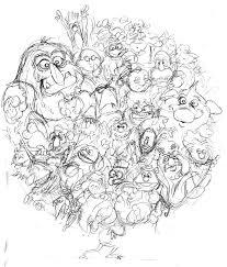 durkinworks muppets world of friendship sketch