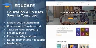 educate education u0026 courses kindergartens joomla template by