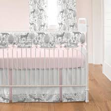 Coral Nursery Bedding Sets by Woodland Crib Bedding Creative Ideas Of Baby Cribs