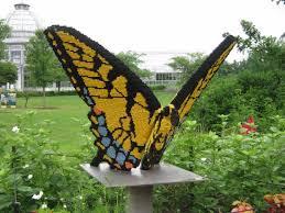 Virginia Botanical Gardens Lego Sculpture On Display At Ginter Botanical Gardens In Glen