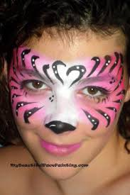 halloween face paint kids black background learn to sponge colour u0026 flick with an angle brush then just dot