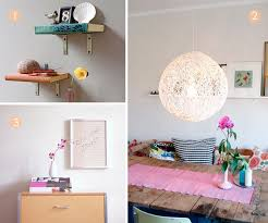 diy modern home decor with homemade wall decor ideas