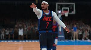 Carmelo Anthony Bench Press Carmelo Anthony Won U0027t Improve The Thunder According To U0027nba 2k18 U0027