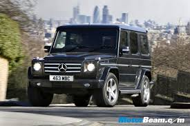 mercedes cross country mercedes to launch g wagon on 14th feb
