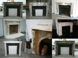 scintillating antique marble fireplace mantels images best