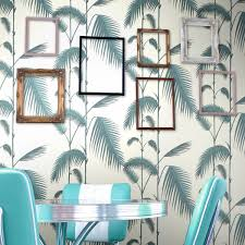 Contemporary Wallpaper Palm Leaves 66 2012 Offices Pinterest Palm Wallpaper And