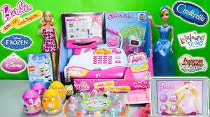 barbie cash register app toy disney princess cinderella shopping