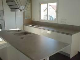 plan de travail en r駸ine pour cuisine béton et résine le spécialiste du béton et de la résine