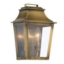 Exterior House Lights Fixtures Brass Gold Outdoor Wall Mounted Lighting Outdoor Lighting