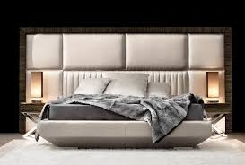 designer headboard macassar ebony framed panelled bed art kim detail of macassar