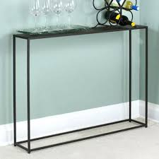 narrow metal console table small black console table small black gloss console table uk