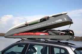 porta surf auto box portabagagli malibu sl con barre porta surf sul coperchio