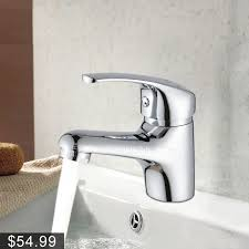 best deck mounted cold and water bathroom sink faucet