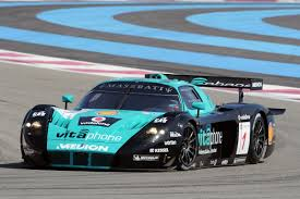 maserati mc12 blue maserati mc12 gt1 fiagt vitaphone racing team 2008
