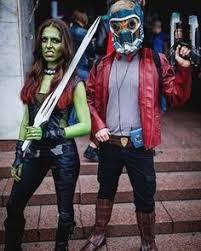 Gamora Costume Guardians Of The Galaxy Cosplay Gamora Costumes Halloween