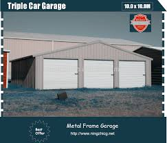 3 car metal garage large metal shed steel construction factory 3 car metal garage large metal shed steel construction factory building buy prefabricated 3 car metal garagelow cost factory workshop steel building