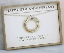 anniversary gifts jewelry 5th anniversary gift for 5 year anniversary gift