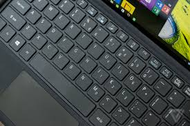 Laptop With Light Up Keyboard Acer Switch Alpha 12 Review Surface On A Budget The Verge