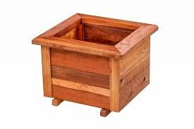 Redwood Planter Boxes by Redwood Planters U0026 Raised Garden Beds Redwood Northwest