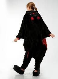 cartoon cute animal vampire bat unisex onesie for women men