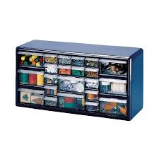 Plastic Cabinets Stalwart Deluxe Drawer Compartment Storage Box Picture On Awesome