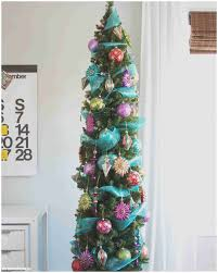 lovely decorating slim tree ideas home