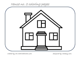 coloring page house house coloring pages creative kitchen