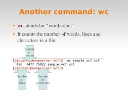Count No Of Words In Unix Linux Intro 3 Grep Unix Piping