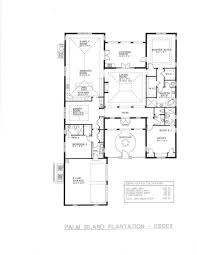floor plans with courtyard floorplans palm island plantation