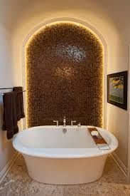 Small Bathroom With Freestanding Tub Small Bathroom With Freestanding Tub And Framed Wall Art Also