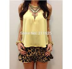 trendy blouses summer fashion cropped geometric chiffon blouses trendy