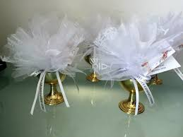communion favors holy communion tulle favour in chalice communion confirmation