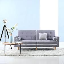 berwick mid century sleeper sofa reviews tufted linen convertible