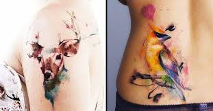 10 watercolor tattoo artists to follow on instagram tattoodo