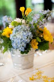 209 best blue and yellow images on pinterest bridal bouquets