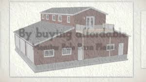 Barn Building Plans Monitor Barn Plans With Living Quarters Barn Floor Plans Youtube
